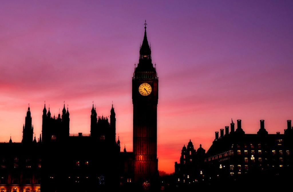 Big Ben sunset
